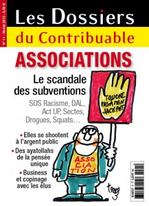 « ASSOCIATIONS: LE SCANDALE DES SUBVENTIONS  » EN KIOSQUE DEPUIS LE 01 FEVRIER