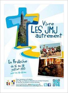 JMJ 2013: «CET ETE, MARCHER EN ARDECHE AVEC L'EVEQUE.C'EST MAINTENANT!»