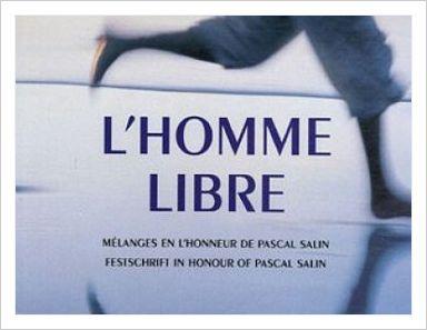 LIVRE: L'HOMME LIBRE de P.Salin