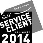 BFORBANK réçoit le PRIX ELU SERVICE CLIENT DE L'ANNEE 2014