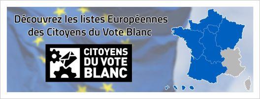Européennes 2014:« Les Citoyens du Vote Blanc exigent une véritable démocratie. »