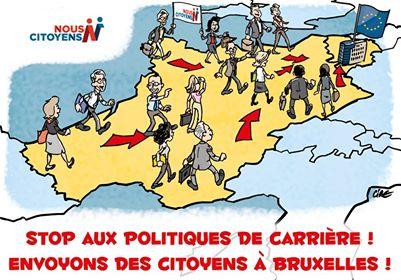 Européennes : la démocratie en danger avec l'absence de bulletins de vote Nous Citoyens