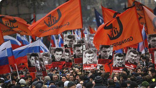 PARTI LIBERAL DEMOCRATE: Assassinat de Boris Nemtsov, «les héros ne meurent jamais»
