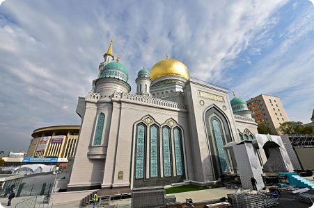 Russie: La belle Mosquée de Moscou voit le jour