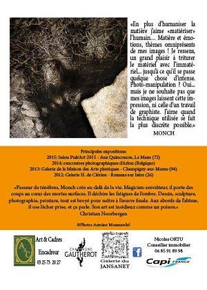 Sophie Sainrapt et Gérard Bréviere: Exposition du samedi 03 Octobre au Mardi 03 Novembre 2015