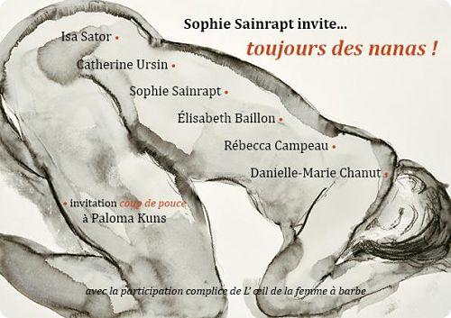 Paris:Belle réunion de grandes imaginatrices à l'Espace Beaurepaire