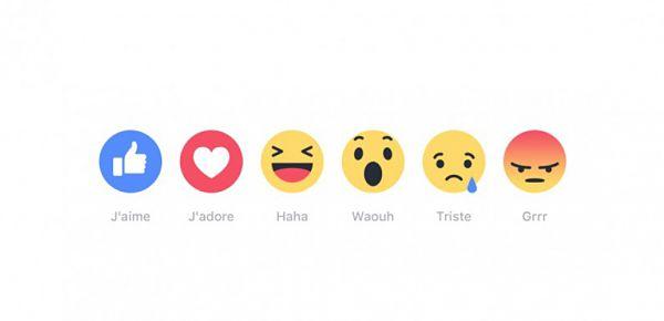Facebook: La fin de l'hégémonie du «J'aime» et le début de la diversité des réactions internautes