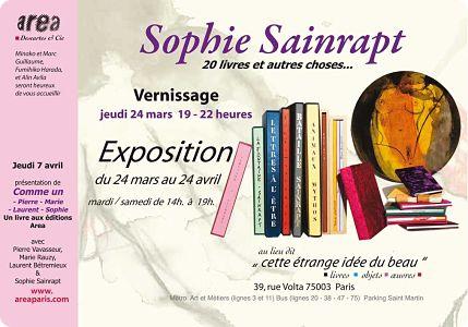 sophie Sainrapt: Comme un