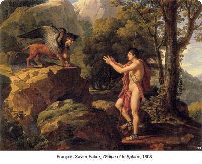 François-Xavier, Œdipe et le Sphinx, 1808