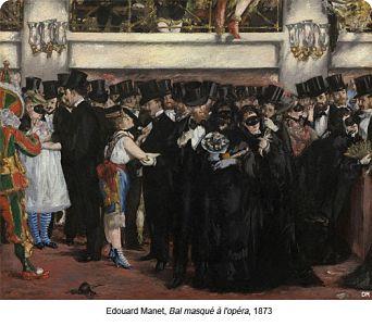 Edouard Manet, Bal masqué à l'opéra, 1873