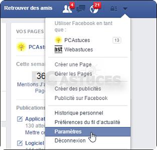 si quelqu'un s'est connecté à votre compte Facebook! comment le savoir
