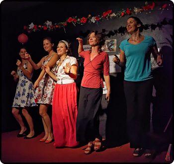 La troupe Les Bets de Scène: dernière répresentation au Petit Théâtre d'IGUARAPINGA