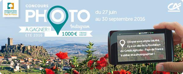 Concours photo de la fondation du Crédit Agricole-Pays de France