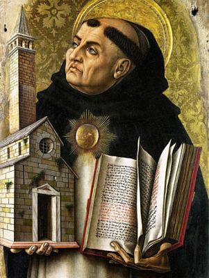 la pensée de Thomas d'Aquin lui-même, indépendamment des développements historiques induits par sa réception.