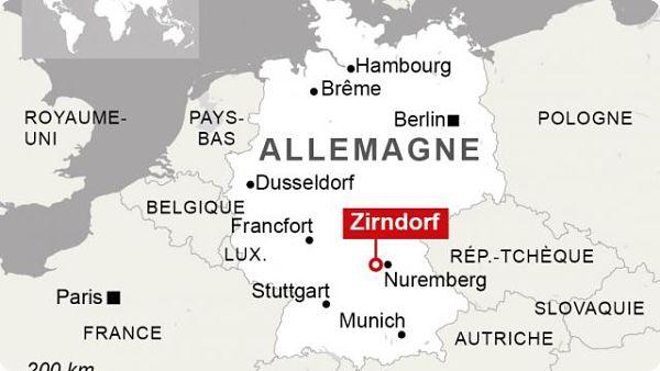 Allemagne: Explosion près d'un centre d'aide aux réfugiés