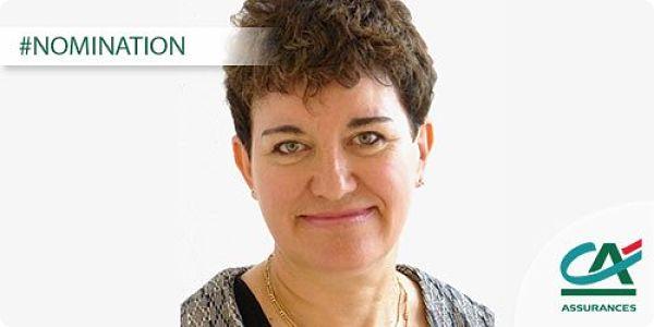 Andrée-Lise Remy est nommée Directrice Risques et Contrôle Permanent de Crédit Agricole Assurances