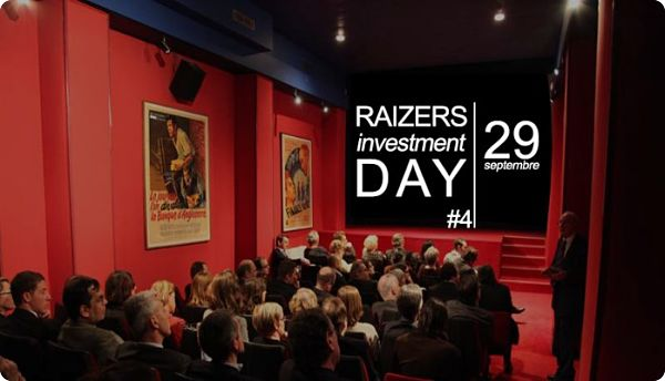 Raizers organise son 4ème Raizers Investment Day