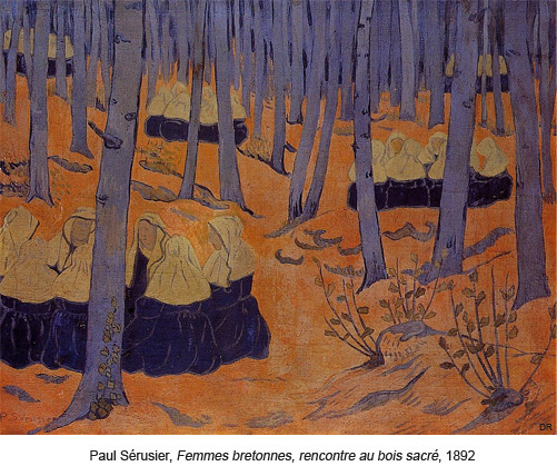 Femmes bretonnes, rencontre au bois sacré