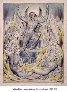 William Blake, Satan s'adressant à ses potentats