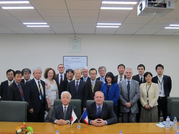 Coopération spatiale entre la France et le Japon – Le CNES participe au STS forum 2016 à Kyoto – Préparation du volet spatial de la COP22