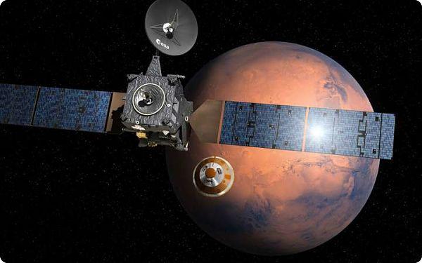 Mission ExoMars : L'Europe va se poser à la surface de Mars