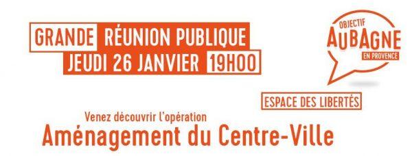 Aubagne : Projet d'aménagement du centre-ville d'Aubagne