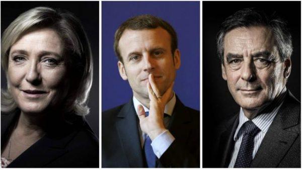 Présidentielles 2017 : les médias nous préparent un futur match à 3, Fillon, Le Pen, Macron