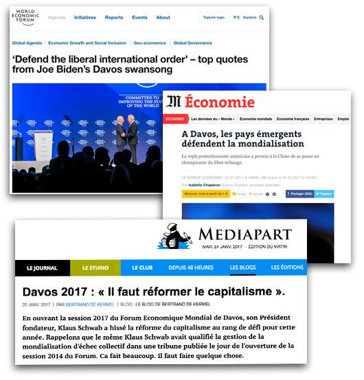 Davos : le temple de l'interventionnisme étatique par  Pascal Salin