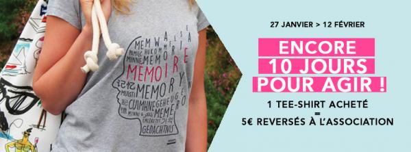 Faites un geste solidaire pour France Alzheimer !