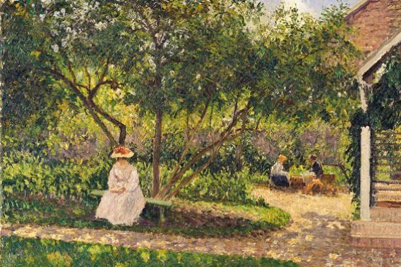 Au Musée du Luxembourg, Pissarro fait l'éloge de la campagne