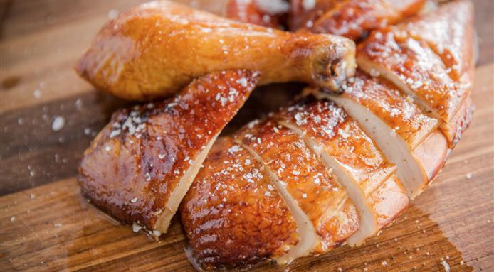 Le poulet fumé maison