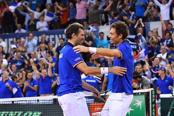 L'équipe de France est qualifiée pour les demi-finales de la Coupe Davis