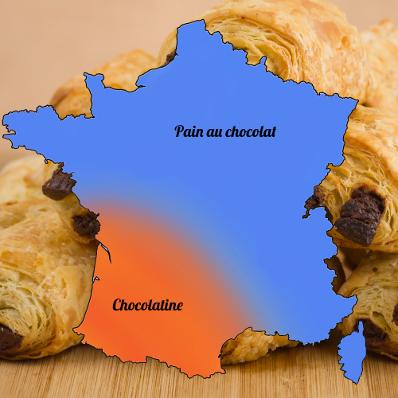 Pain au chocolat ou chocolatine : quel terme est le plus employé ?