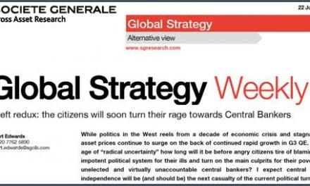 Les banquiers centraux à la guillotine  Par Simone Wapler