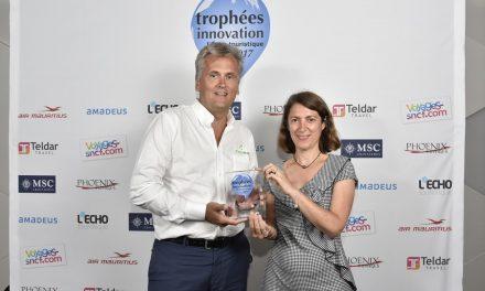 location d'appartements pour voyageurs d'affaires,  remporte le Trophée Innovation – Offre Affaires