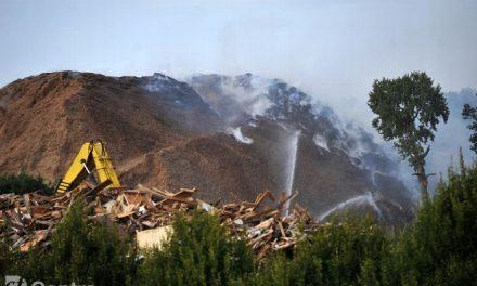 Chartres : Des centaines de m3 d'eau déversées pour lutter contre l'incendie