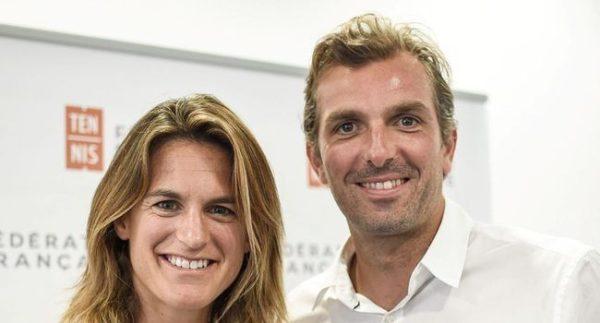 Amélie Mauresmo et Julien Benneteau nommés respectivement capitaine de l'équipe de France de Coupe Davis et capitaine de l'équipe de France de Fed Cup