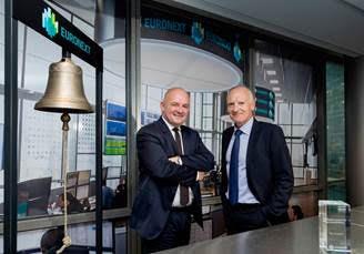 Les nouveaux métiers du Groupe cotées sur Euronext : ACQUISITION DE LA SOCIÉTÉ PAR WESTFIELD Unibail-Rodamco