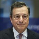 Le Président de la BCE, Mario Draghi, devant les députés pour la dernière fois