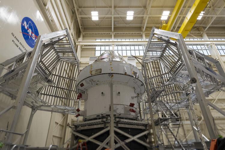 Agence spatiale européenne : Enceinte thermique pour Orion