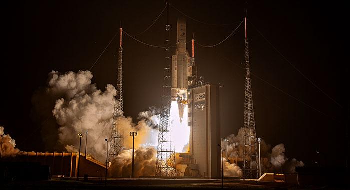 Ariane 5 réussit son deuxième lancement de l'année 2020