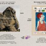 L'oeil de la femme à barbe  présente Deux livres / deux expositions – Raâk et Claire Zuber