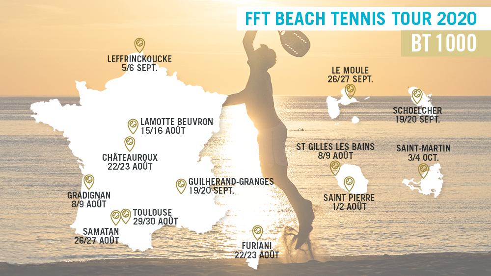 La FFT lance le « FFT Beach Tennis Tour » dès août