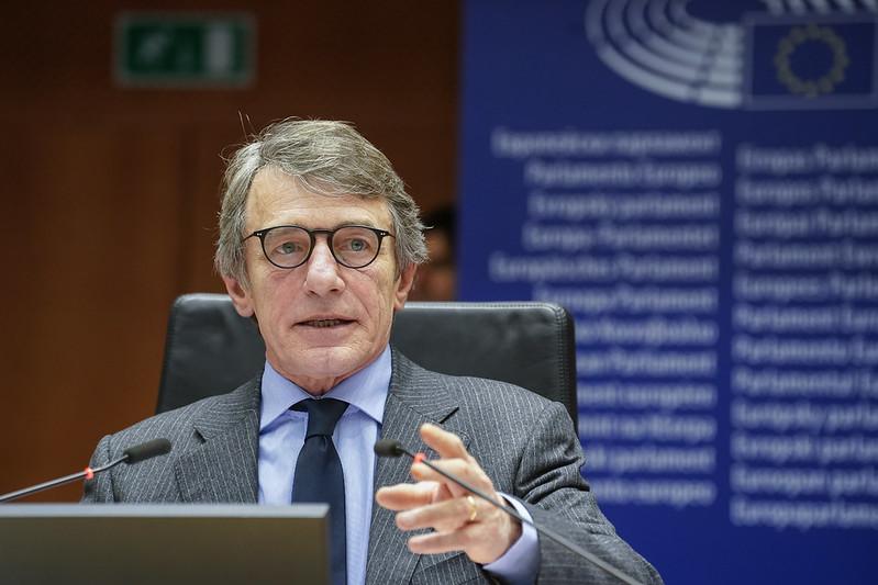 Sassoli au Conseil européen : Aujourd'hui, il est temps de conclure cet accord pour le bien des citoyens