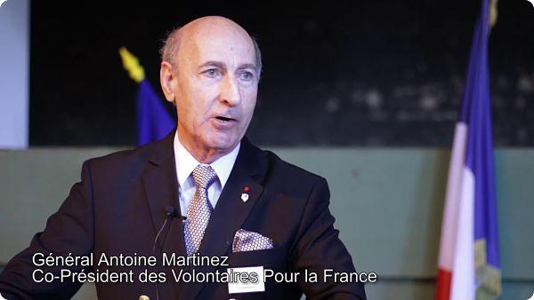 Général (2s) Antoine MARTINEZ : «La France doit être libérée pour retrouver son âme»