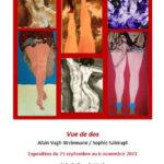 Exposition : Vue de dos Alain Vagh-Weinmann et Sophie Sainrapt