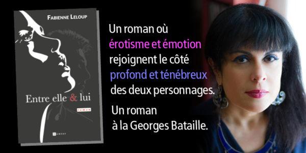 Un roman où érotisme et émotion rejoignent le côté profond et ténébreux des deux personnages. Un roman à la Georges Bataille.